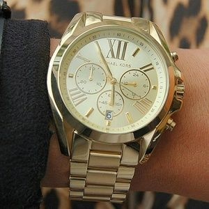 1 LEFT IN STOCK- New Michael Kors Gold watch